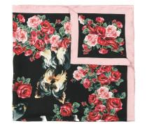 patterned neck scarf