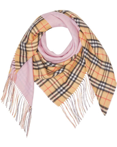The  Bandana in Vintage Check Cashmere