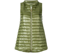 a-line padded gilet