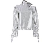 Metallische Bluse