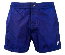 side stripe swim shorts - men