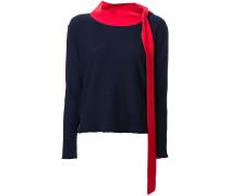 Pullover mit Schleifenkragen