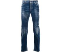 Halbhohe 'Mick' Tapered-Jeans