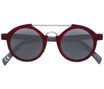 Runde Sonnenbrille - unisex - Samt/plastic