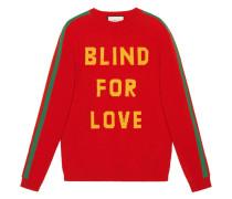 'Blind for Love' Wollpullover