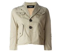 flap pocket jacket - women - Baumwolle - 40