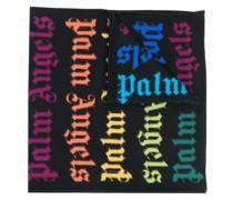 Schal mit Regenbogen-Logos