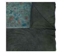Oversized-Schal mit Blumen-Print