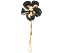 Schlüsselanhänger mit Blumendesign