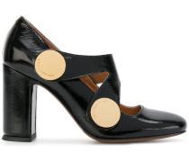 Schuhe mit eckiger Kappe