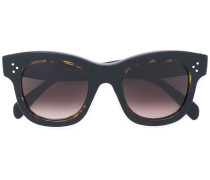 - Cat-Eye-Sonnenbrille mit Logo - women - Acetat