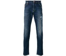 Schmale Jeans mit Distressed-Optik - men