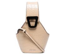 'Johnny' Mini-Tasche mit Kroko-Effekt