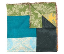 Schal im Patchwork-Design