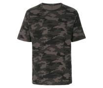 T-Shirt in Camouflage-Optik