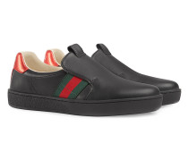 Slip-On-Sneakers mit Webstreifen
