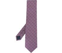 Krawatte mit Schlüssel-Print