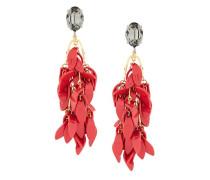 petal clip-on earrings