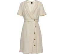 Gewickeltes Tweed-Kleid