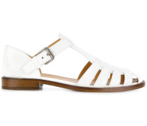 classic buckled sandals