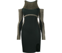 Tailliertes Kleid mit Cut-Outs