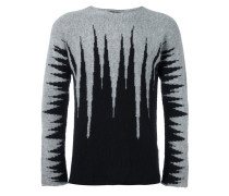 abstract pattern pullover
