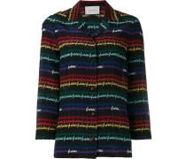 Pyjama-Seidenhemd mit Print