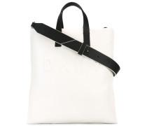 Shopper mit Logo-Prägung - women - Leder