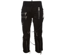 'Icon' Jeans mit Riemen