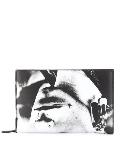 Portemonnaie mit Punk-Print