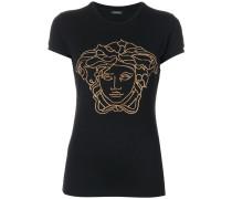 crystal-embellished Medusa T-shirt
