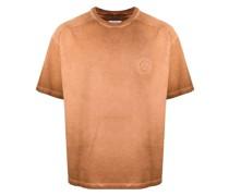 Ausgeblichenes T-Shirt mit Rose