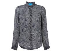 'Evelyn' Seidenhemd mit floralem Print