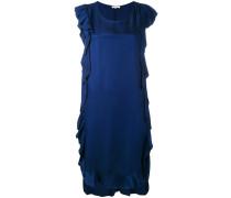 Ärmelloses Kleid mit Volants - women - Viskose