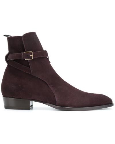 Saint Laurent Herren 'Wyatt' Stiefel Offizielle Zum Verkauf Billig Verkauf Blick 1v6arU