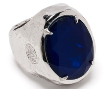 Ring mit ovalem Stein