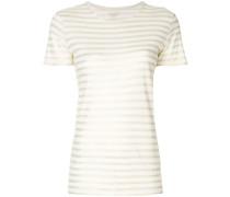 T-Shirt mit Kontraststreifen