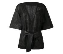 belted kimono