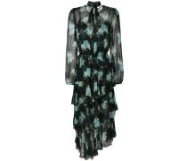 Whitewave poppy midi dress