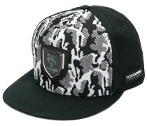 camouflage print snapback hat