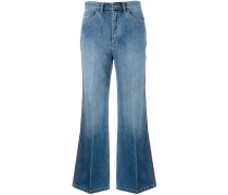 Ausgestellte Jeans - women - Baumwolle - 24