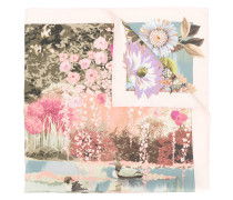 romantic landscape scarf