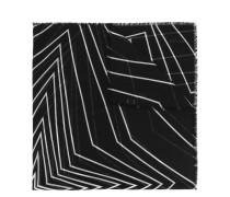 Wollschal mit grafischem Print - women - Wolle