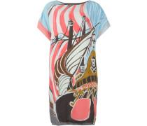 Kleid mit Schiffs-Print