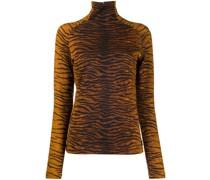 Langarmoberteil mit Tiger-Print