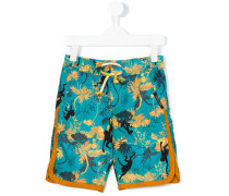 printed swim shorts - kids - Polyamid/Polyester