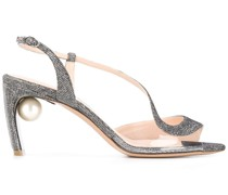 'Maeva' Sandalen mit Perle