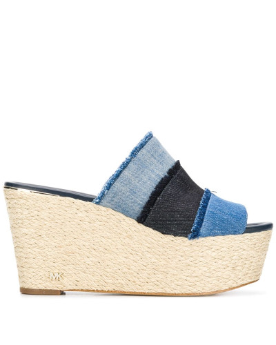 Jeans-Mules