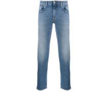 Halbhohe 'Corkey' Skinny-Jeans