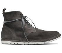 Desert-Boots mit flacher Sohle